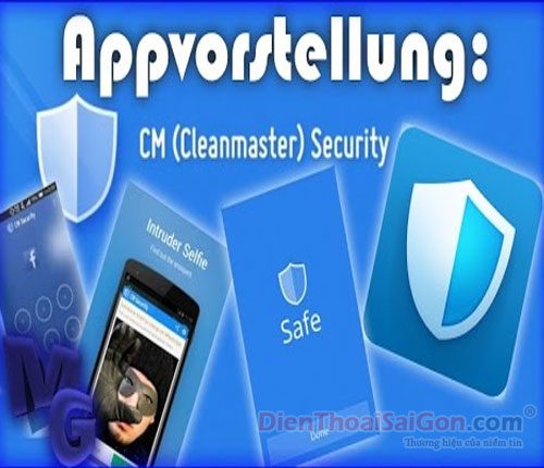 Phần mềm diệt virus CM (Clean Master) Security